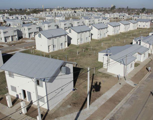 Dentro de un mes ya serán 1.054 las casas habitadas en el vecindario que se levanta detrás del populoso barrio Rucci.