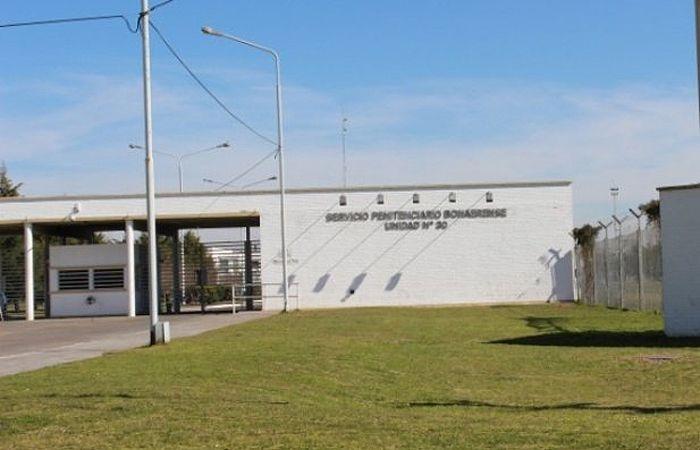 El penal de General Alvear donde se fugaron los tres condenados por el triple crimen de General  Rodriguez.