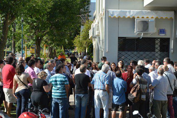 La reunión que se realizó este mediodía en la Municipalidad de Fray Luis Beltrán. (Foto: Prensa M. de Fray Luis Beltrán).