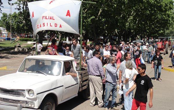 La convocatoria estuvo lejos de las multitudinarias protestas del campo protagonizadas en 2008.