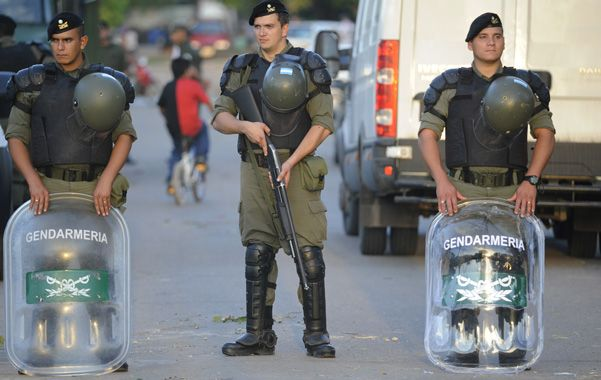 En las calles. Desde principios de abril los gendarmes vienen patrullando varias zonas de la ciudad.