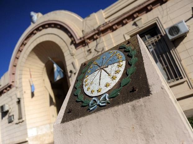 La sede de la Jefatura de policía de San Lorenzo. El atraco fue denunciado allí.