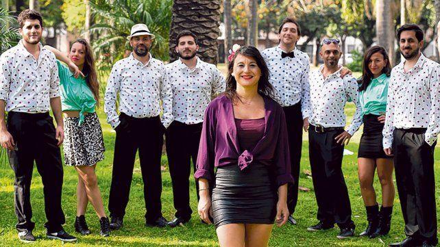 Talento rosarino. La banda Girda y los del alba fue seleccionada en el rubro Gira Musical Provincial.