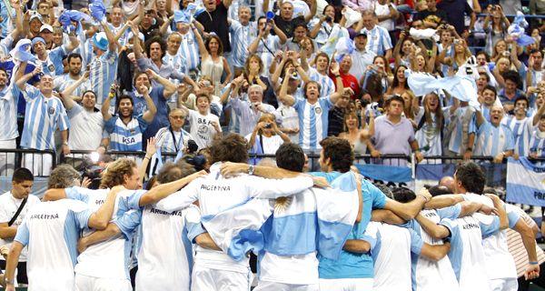 Una canción contra Messi, en el festejo argentino en la Davis