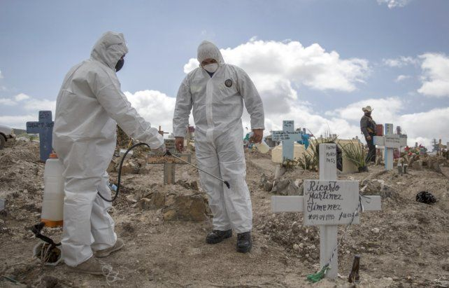 México ya está tercero por cantidad de muertes de coronavirus
