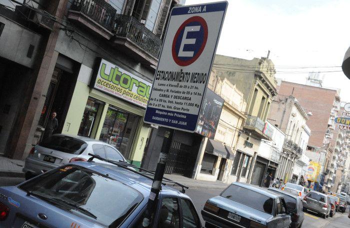 Durante las próximas fiestas el estacionamiento libre en el microcentro será gratuito