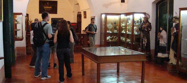 El Museo del Convento sanlorencino estaba a punto de cerrar por falta de fondos.
