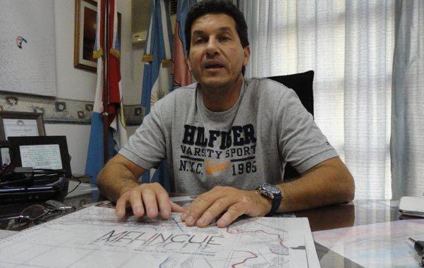 El jefe comunal Gabriel Rébora dijo que ya pagamos 100 mil pesos con recursos propios para los estudios de impacto ambiental.
