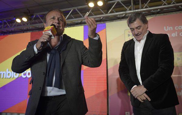 Miguel del Sel y Jorge Boasso