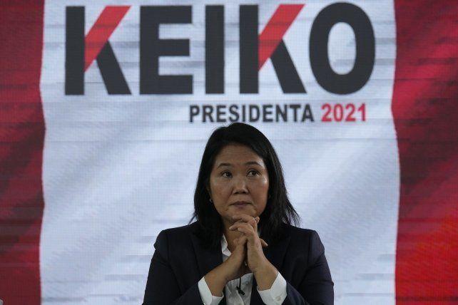 Keiko Fujimori se enfrenta a su tercera derrota electoral en un ballottage presidencial.