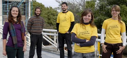 Jóvenes científicos piden mejoras en las condiciones laborales