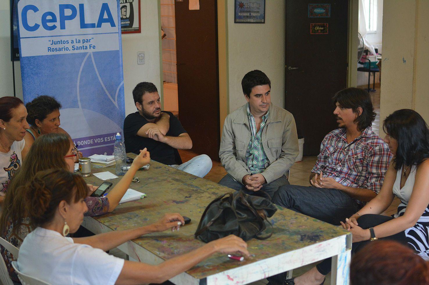 Tonioli destacó la la creación de los centros preventivos y terapéuticos de la Sedronar en el combate contra la droga.