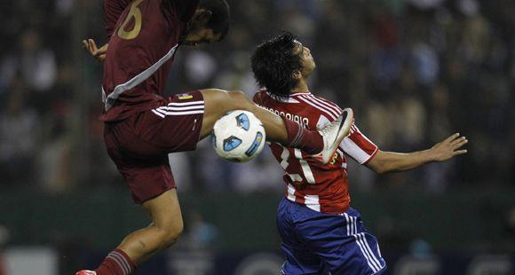 Paraguay y Venezuela entregaron un vibrante empate 3 a 3 que se definió en el último minuto de descuento