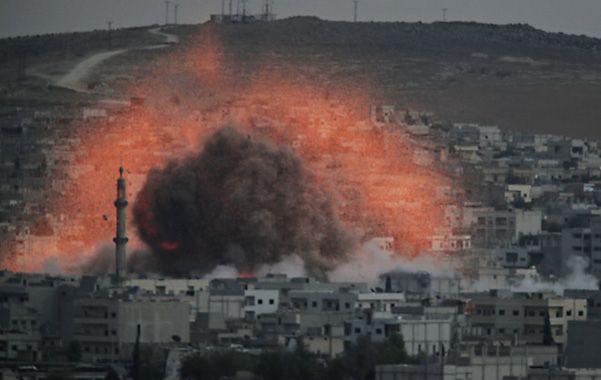 Las bombas de EEUU son decisivas para frenar al grupo islamista.