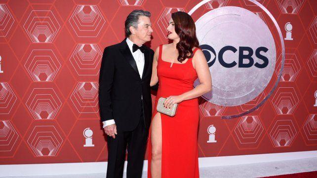 Peter Gallagher y su hija Kathryn