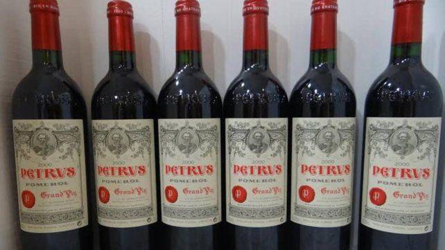 El Petrus es un vino de alta gama y muy codiciado.