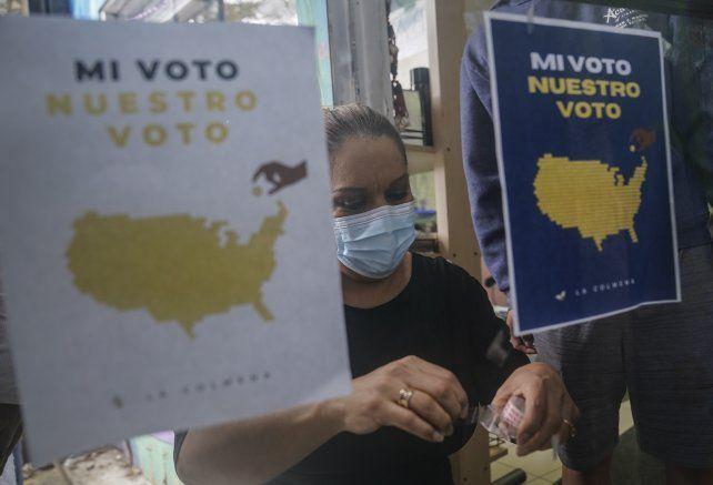 Campaña para impulsar el voto latino en La Colmena