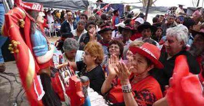 Más de 200 mil personas se congregaron en el santuario del Gauchito Gil