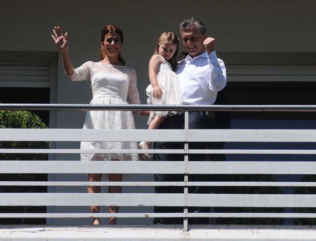 Imágenes de un día histórico para Macri tras asumir como presidente de la Nación
