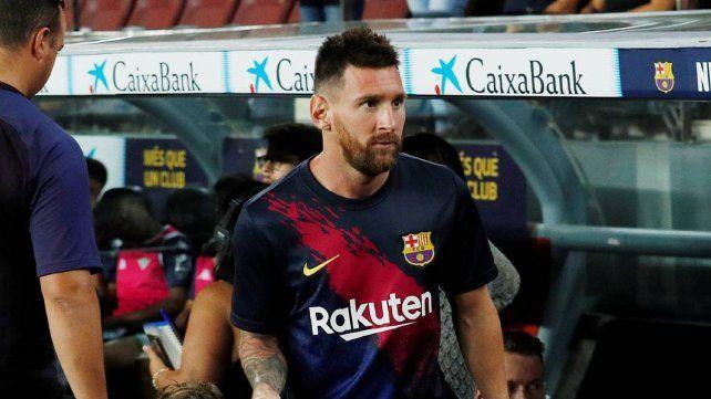 Messi se resintió de la lesión y estará afuera varias semanas más