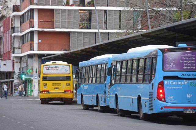 Desde que se desató la pandemia el sistema de transporte experimenta una abrupta caída de usuarios.