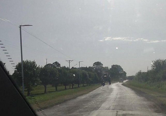 Los vecinos vienen registrando las aspersiones en la zona