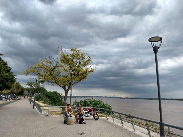 Se acerca el fin de semana y el Servicio Meteorológico anuncia tormentas fuertes llegando la noche.