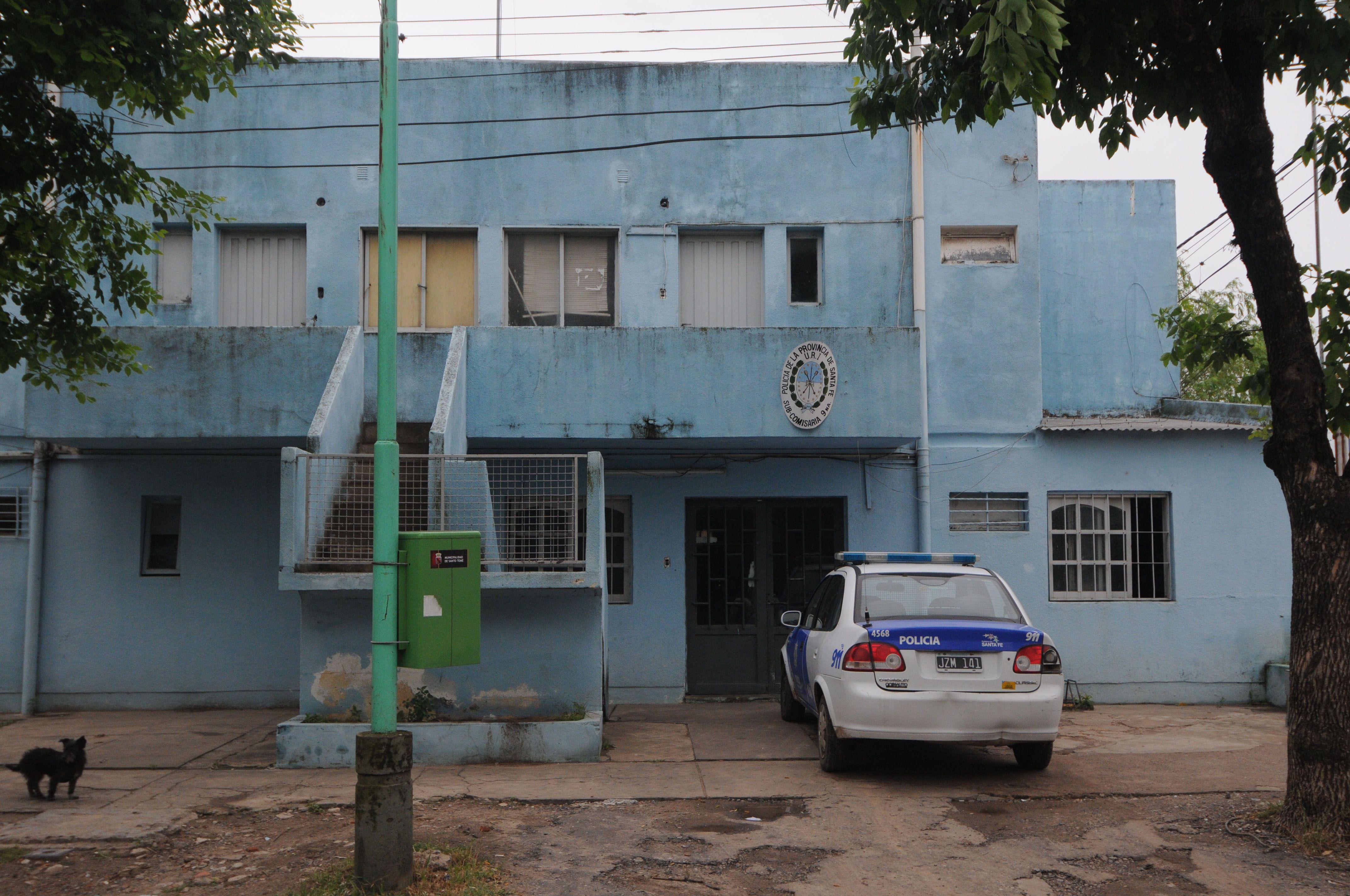 El hecho ocurrió en jurisdicción de la subcomisaría 9ª de Santo Tomé.. (Foto: Gentileza Diario Uno)