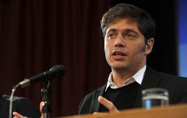 Optimismo. El ministro de Economía aseguró que ya se comenzó a notar el impacto de las paritarias.