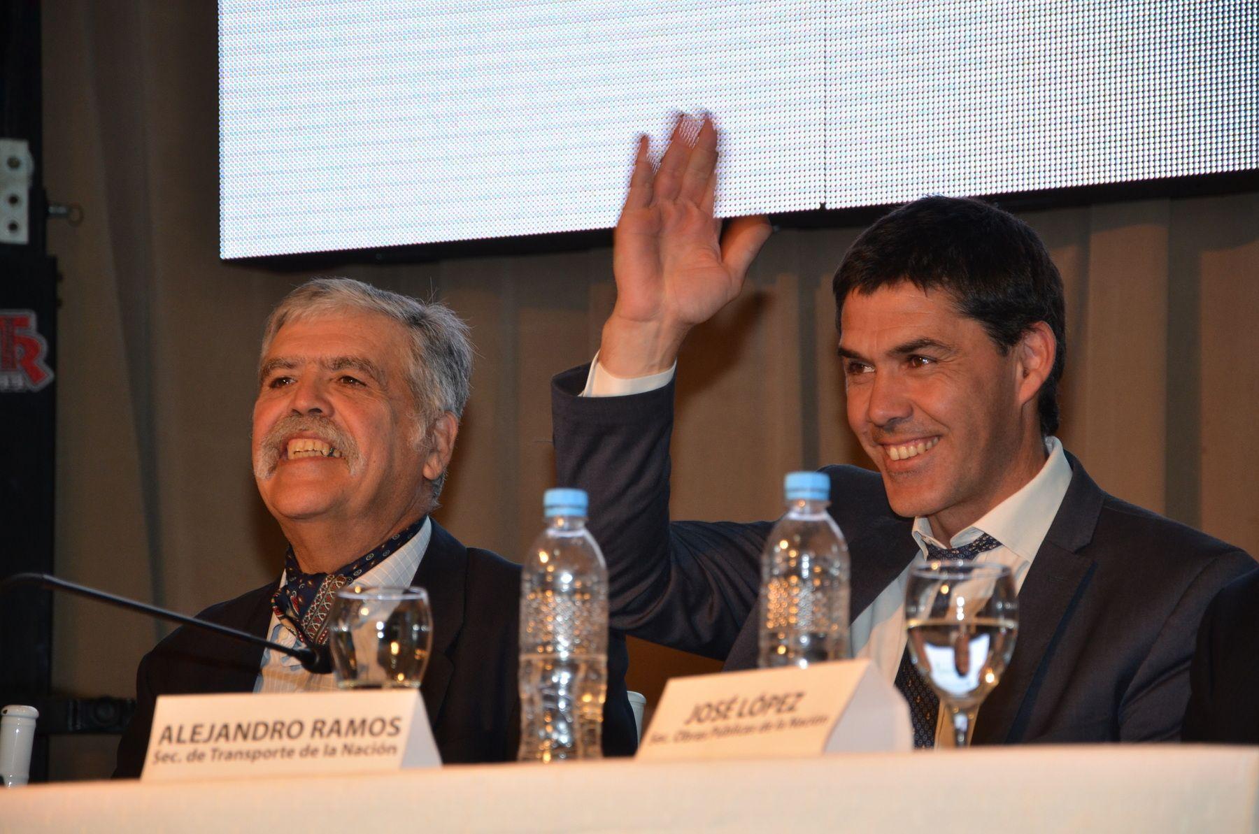 Ramos junto al ministro de Planificación Federal
