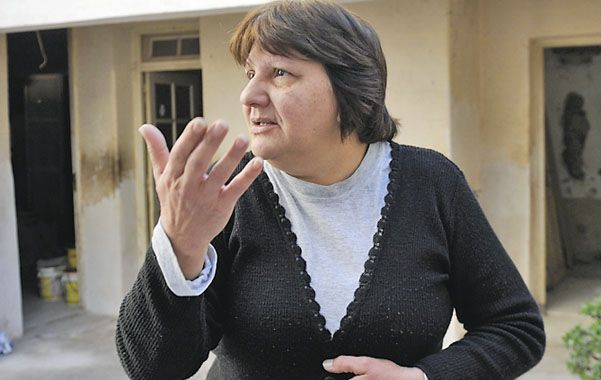 Victima. A Ana María la asaltaron en su casa de Bella Vista el 30 de junio.