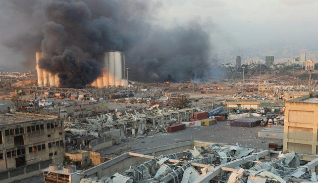 Explosión en el centro de Beirut: al menos 70 muertos y tres mil heridos