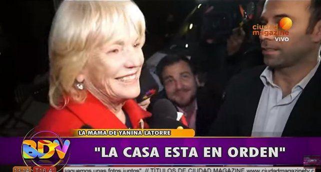 Es una pirateada, nada más, reflexionó la mamá de Yanina que defendió a Diego Latorre