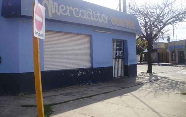 El negocio donde mataron de un balazo a Daniel Farías