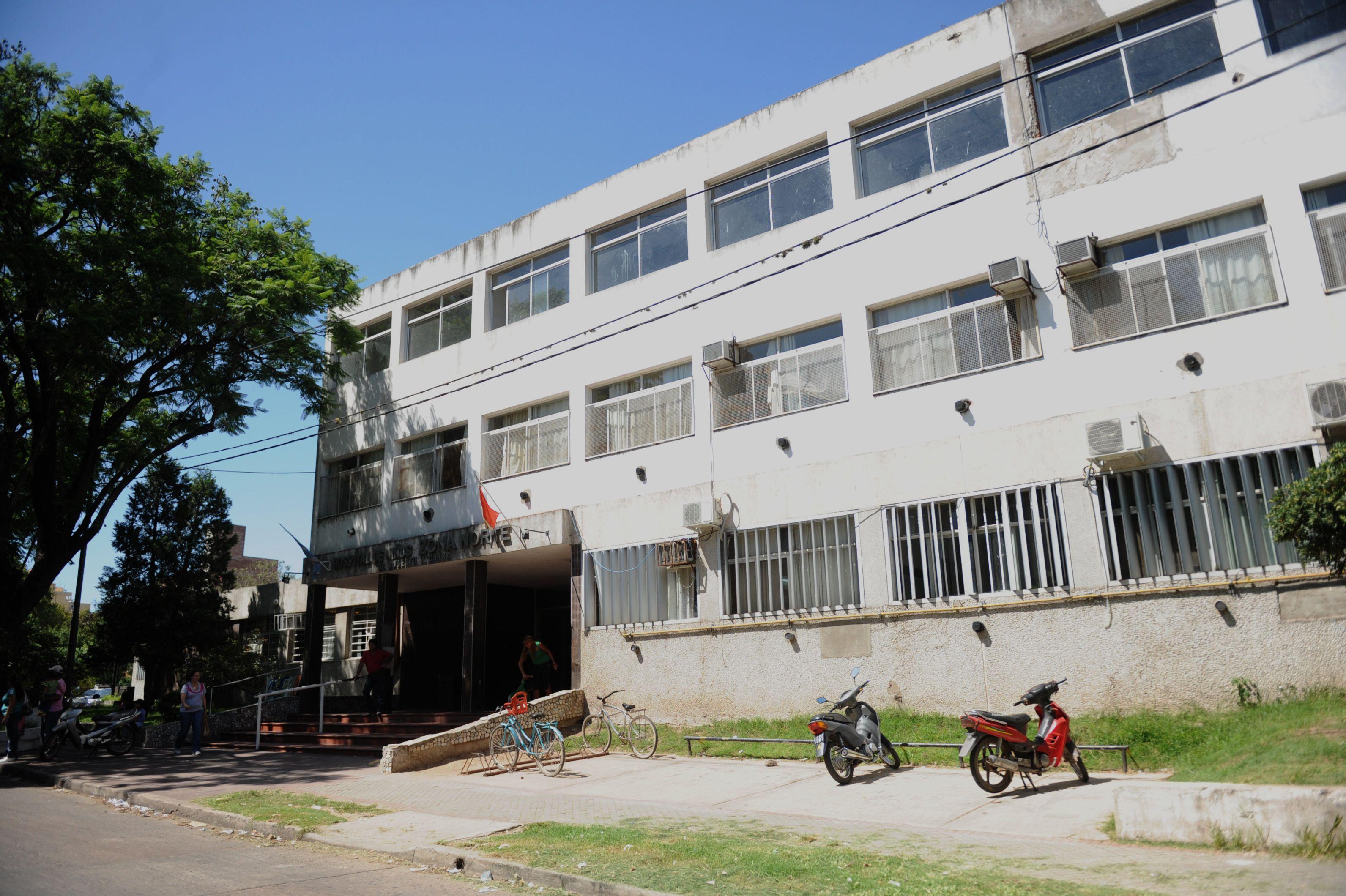 Joana Aquino fue derivada al Hospital de Niños Zona Norte