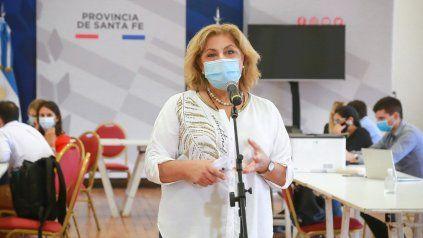 La ministra de Salud de la provincia, Sonia Martorano.