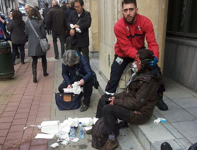 Las desgarradoras imágenes de los atentados terroristas que sacudieron a Bruselas