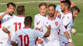 Pádova, con Nahuel Valentini, perdió como local ante Imolese, por 1-0.