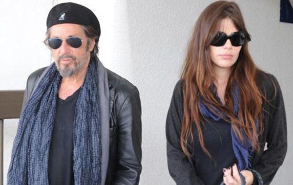 Al Pacino ya no sigue en pareja con la joven modelo argentina