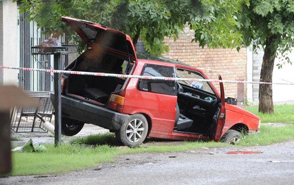 El condenado circulaba en un Fiat rojo cuando ocurrió la balacera. (Foto: C.M.Lovera)