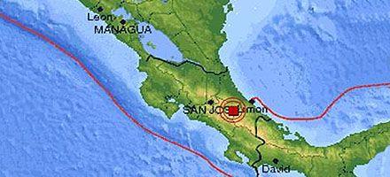 Sigue temblando: un sismo de 5,2 grados sacudió Costa Rica