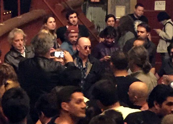 El Indio en la presentación de la película en Nueva York. (Foto: Sebastián Campos)