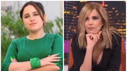 La legisladora del Frente de Todos Ofelia Fernández y la conductora de A24 Viviana Canosa.
