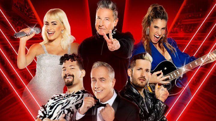 Un plantel de estrellas. Lali Espósito, Ricardo Montaner, Soledad Pastorutti y Mau y Ricky, con conducción de Marley, abren hoy el reality.