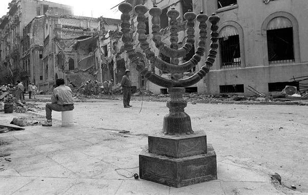 Al menos 22 personas murieron en el atentado del 17 de marzo de 1992.