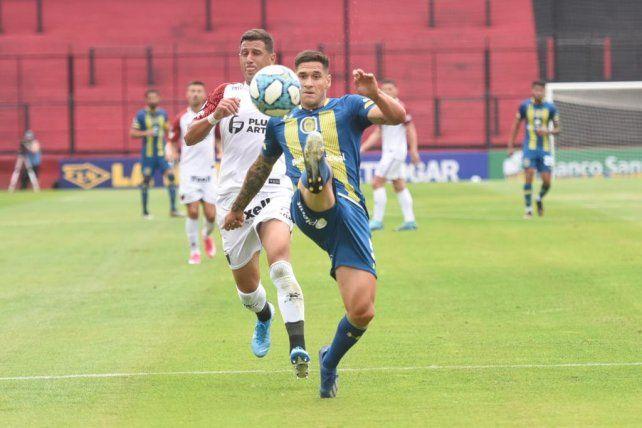 Villagra fue titular en los tres amistosos que disputó Central.