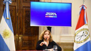 """La secretaria de Salud de la provincia, Sonia Martonaro, afirmó que """"el tiempo ganado tuvo que ver con fortalecer el Sistema de Salud y los recursos humanos""""."""