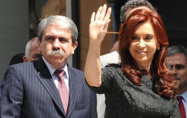 Aníbal Fernández dijo que la presidenta no tiene de qué preocuparse.
