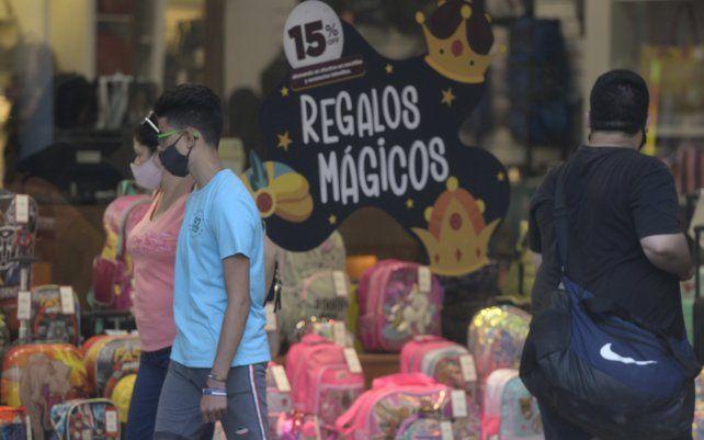 Ricardo Diab dijo que es notoria la merma en la circulación en los locales comerciales.