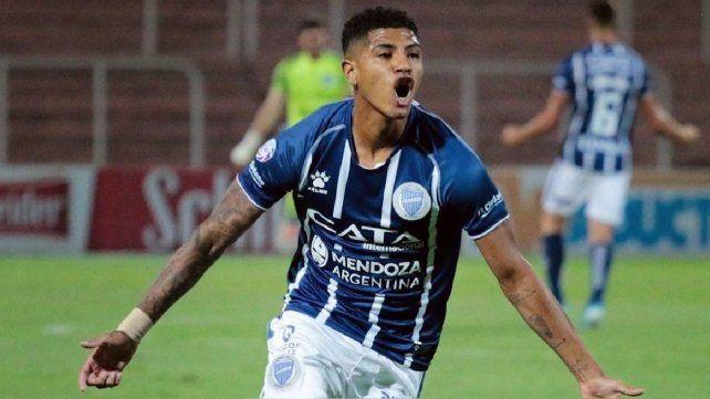 Cartagena viene de jugar en Godoy Cruz y hoy está en la selección.
